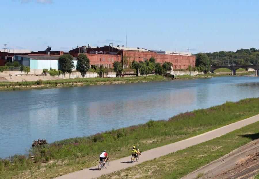 bike trails in Hamilton Ohio