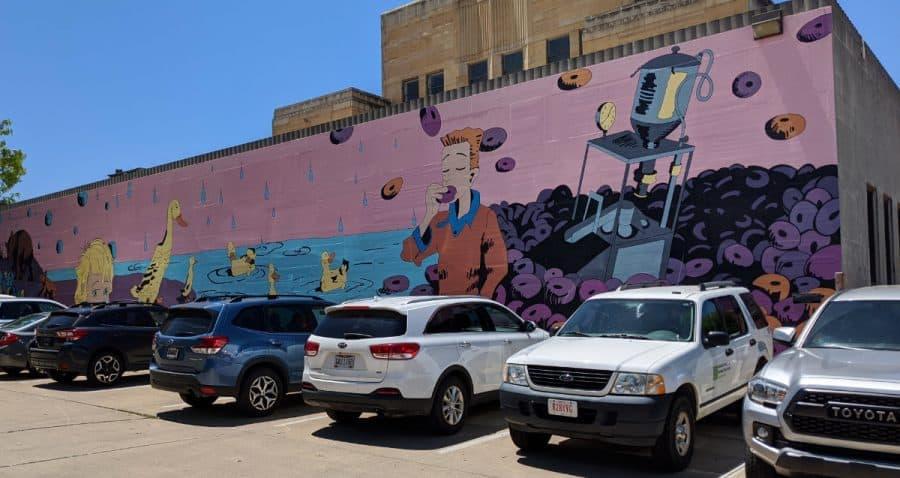 McCloskey mural in Hamilton, Ohio