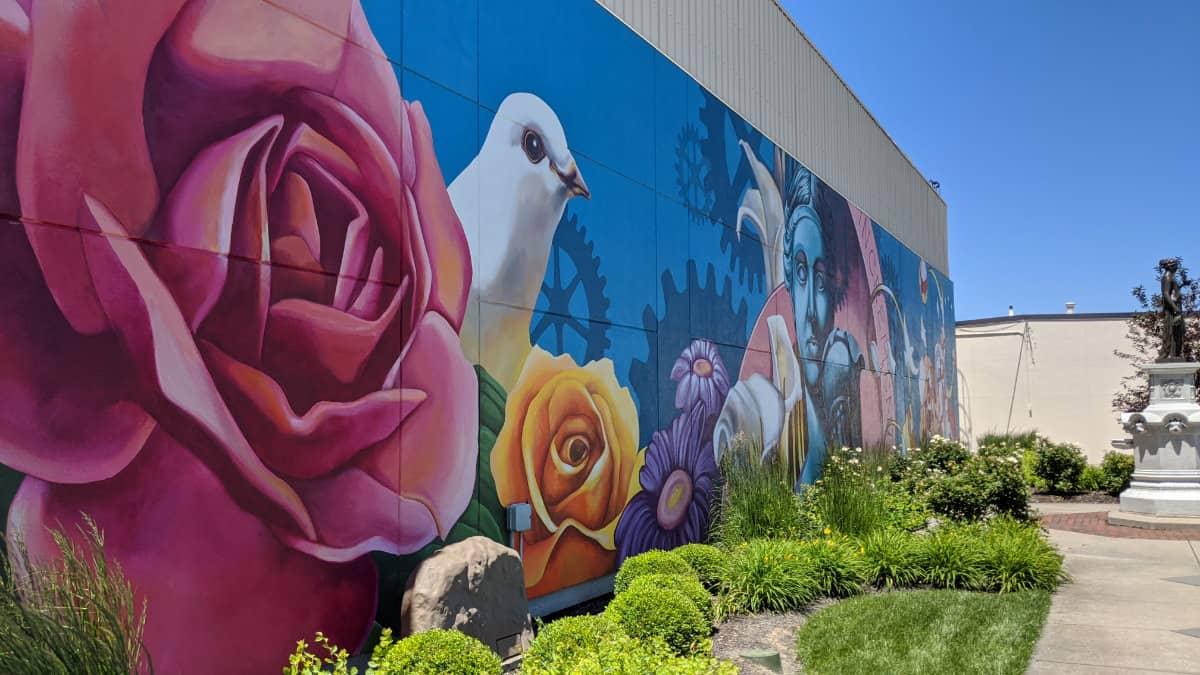 Incrementum Mural in Hamilton, Ohio