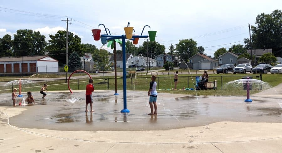 Sprayground in Hamilton, Ohio