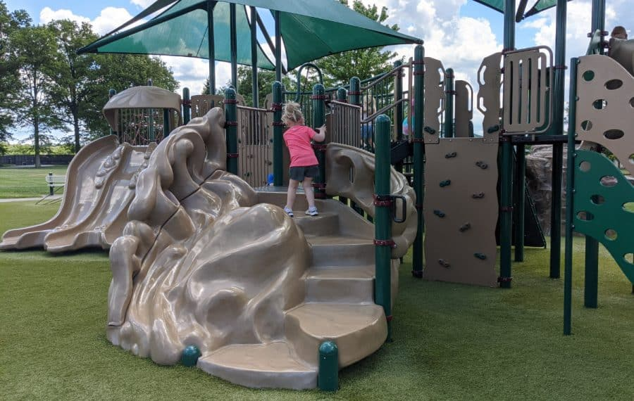 playground for little kids at Cottell Park