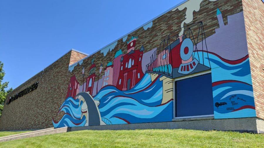 Miami Hamilton mural