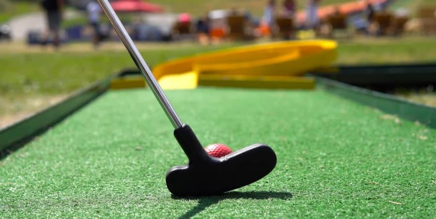 Date Night in Cincinnati Putt Putt Mini Golf