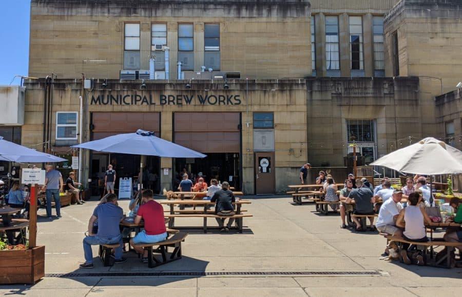 Municipal Brew Works in Hamilton Ohio