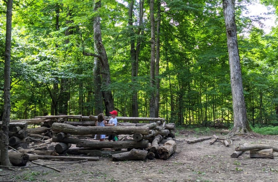 Build at the at the Schott Nature PlayScape