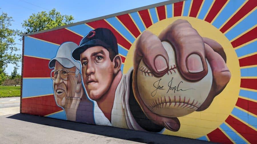 Left Hander for Life mural