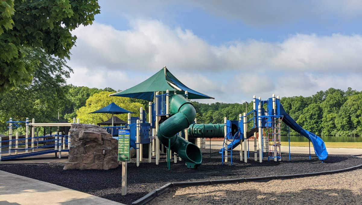 the playground at Miami Whitewater Forest