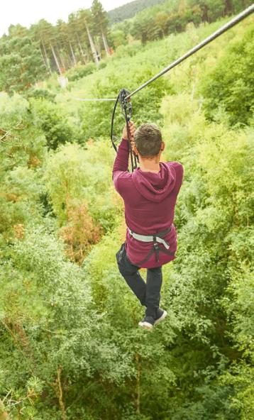 Go Ape! Treetop Adventures
