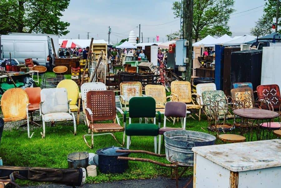 Springfield Antique Show and Flea Market, flea markets in Ohio, Springfield Ohio flea market