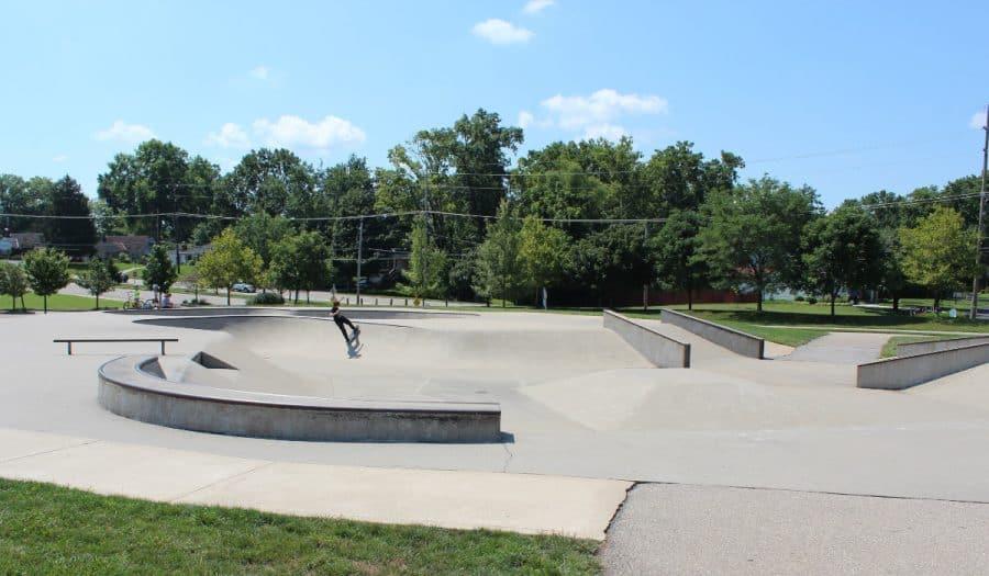 Skatepark at Beech Acres