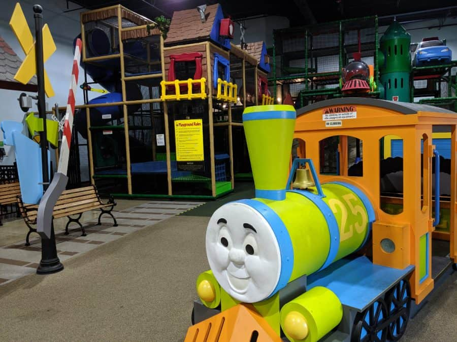 indoor play place at Entertrainment Junction