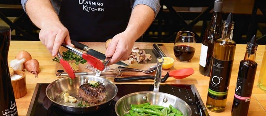 Cooking classes on the island at The Learning Kitchen
