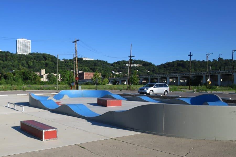 Warsaw Skate Park in Cincinnati