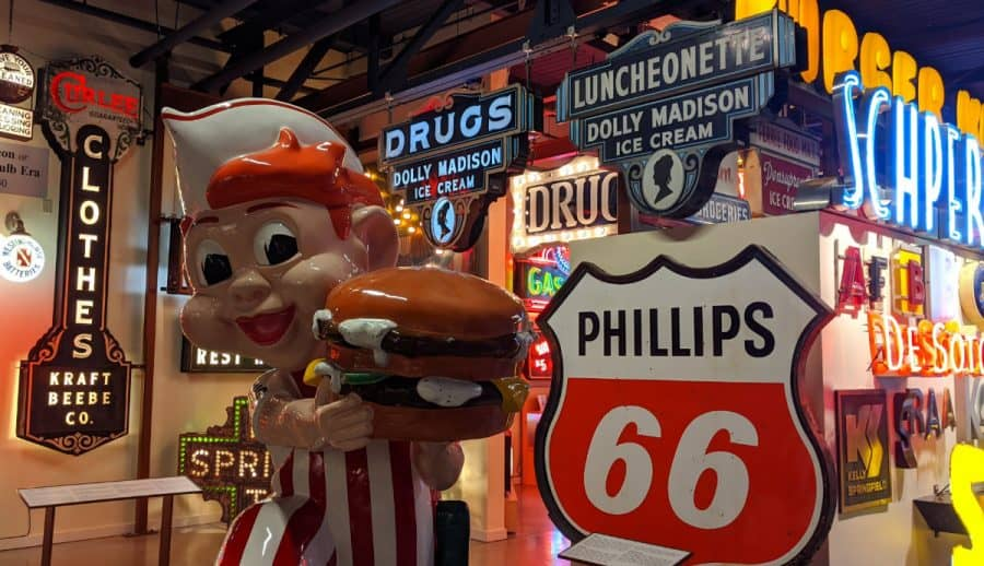 Big Boy at the American Sign Museum