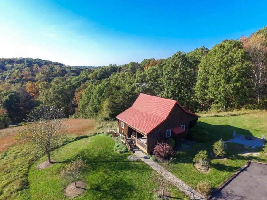 Hilltop Views - a suggestion for Ohio Cabin Getaways