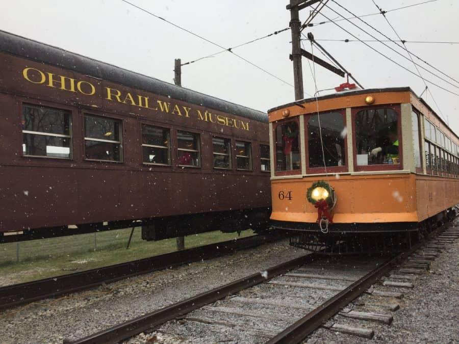 Santa Train at the Ohio Railway Museum