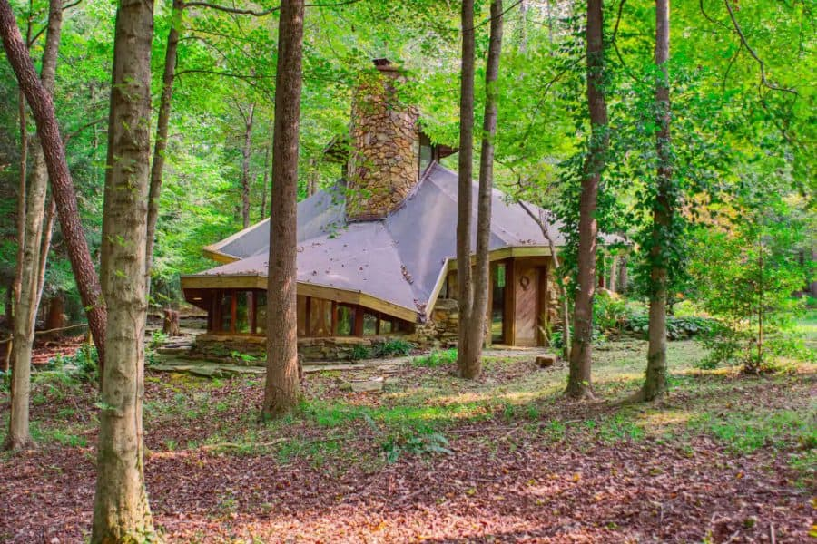 The Roundabout Cabin - a suggestion for Ohio Cabin Getaways