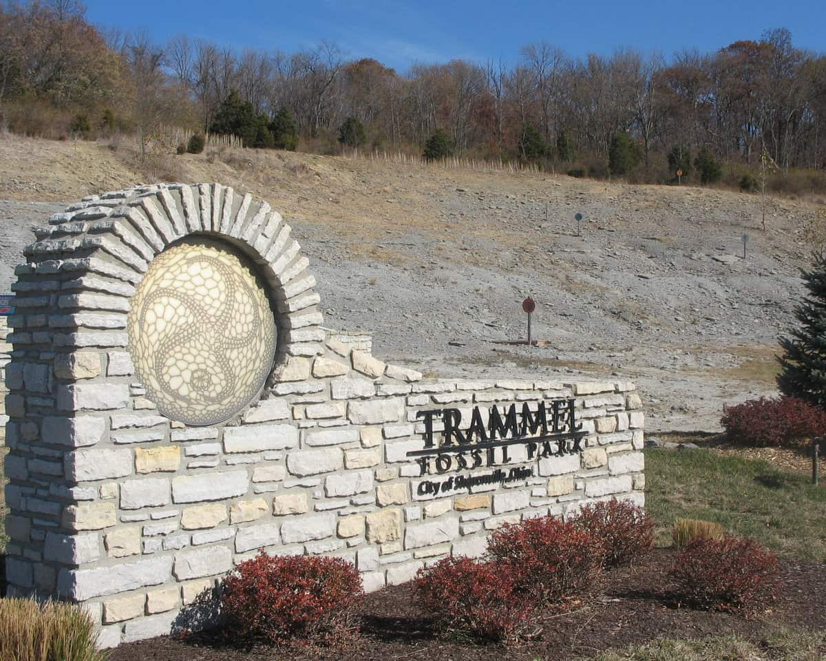 Trammel Fossil Park in Sharonville