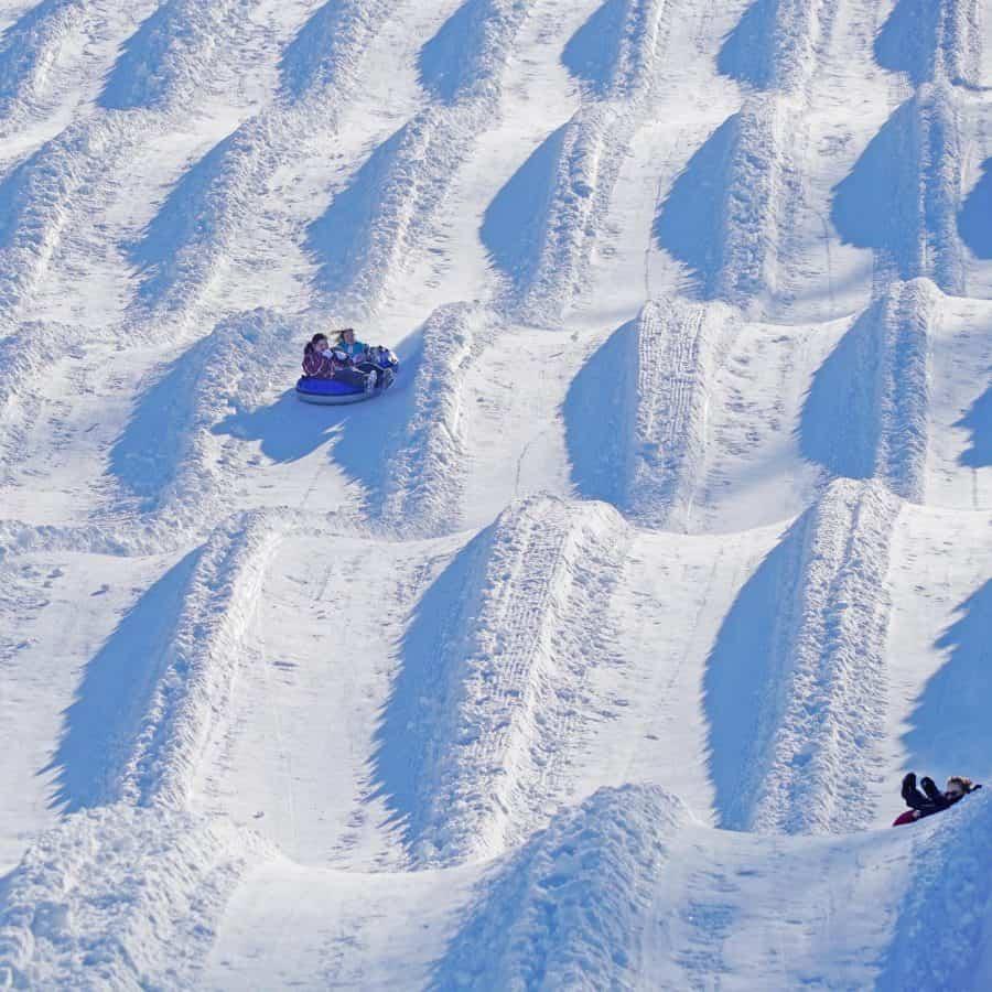 Snow Tubing at Avalanche Tubing Park