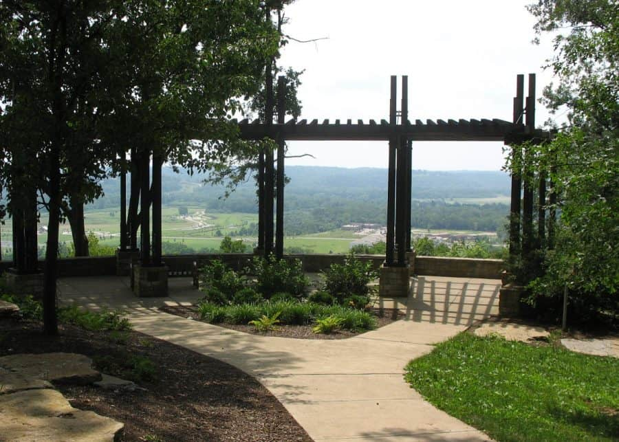 the overlook at Ault Park