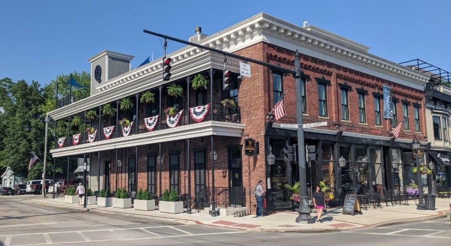 Bishop's Quarter on Main Street in Loveland, Ohio