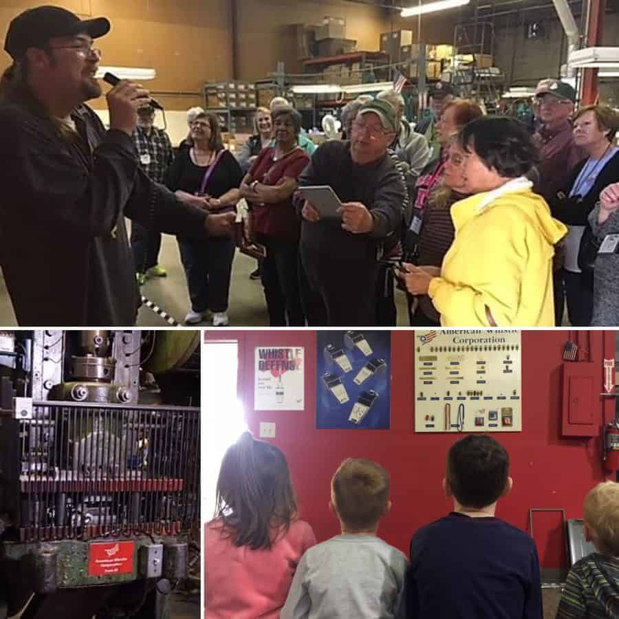 Ohio Tours at American Whistle Corporation