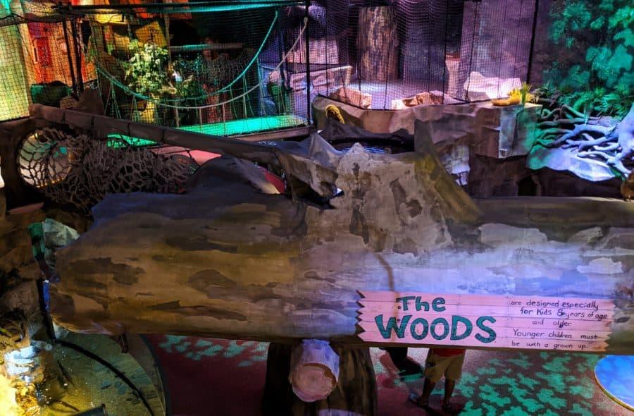 the indoor play place at the Children's Museum in Cincinnati